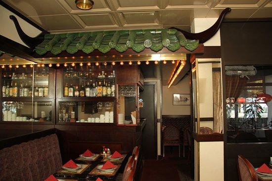 Nynashamn, İsveç: Inne i restaurangen