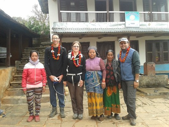 Gandaki Zone, Nepal: Home stay in Lange Village in Kaski