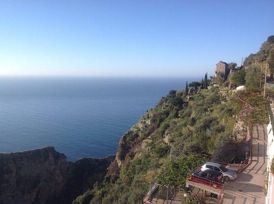 Furore, Italie : Vue de notre chambre
