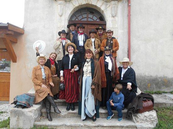 Thorenc, Frankrike: Notre groupe passionné de Western faisons des reconstitutions de toutes époques ..Journée formid