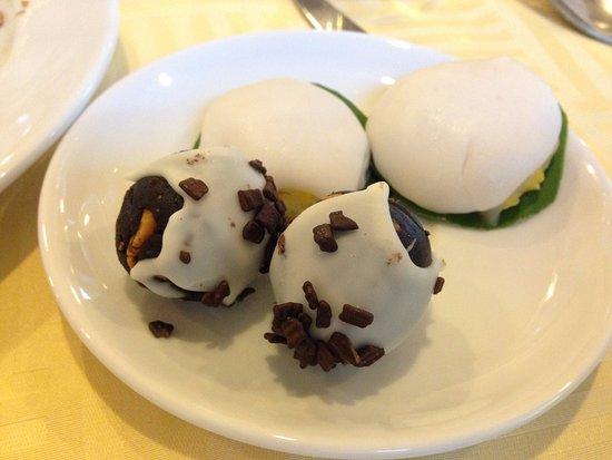 Pakse, Laos: อาหารบุฟเฟต์