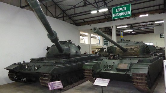 Musee des Blindes: Tanks