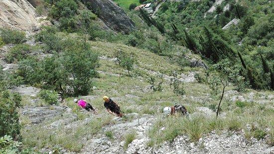 Klettersteig Colodri : Via ferrata dei colodri arco klettersteige