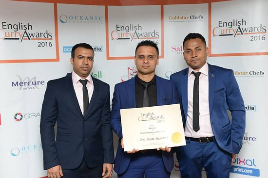 Mildenhall, UK: English Curry Awards Winners 2016