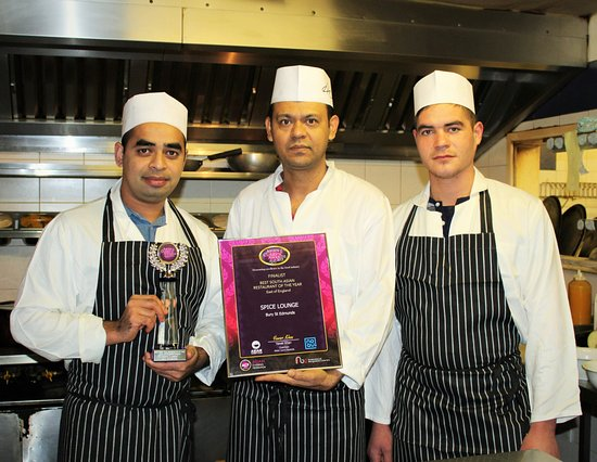 Mildenhall, UK: Asian Curry Awars 2015 Regional Winner