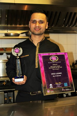 Mildenhall, UK: Asian Curry Awards 2015 Regional Winner