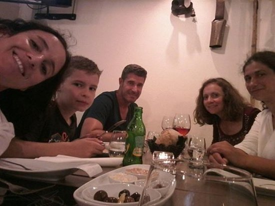 Torres Novas, Portugalia: Jantar em familia Restaurante Papa Figos