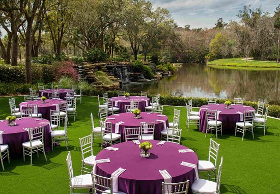 Ponte Vedra Beach, FL: Cascades Event Lawn Reception