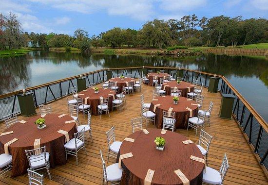 Ponte Vedra Beach, FL: American Gator Club Lower Deck Reception
