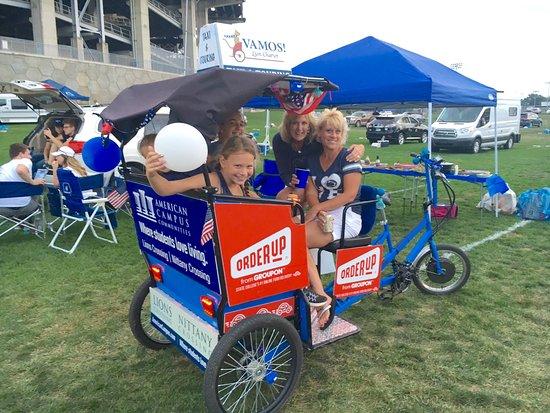 State College, بنسيلفانيا: Game Day Tour - Beaver stadium