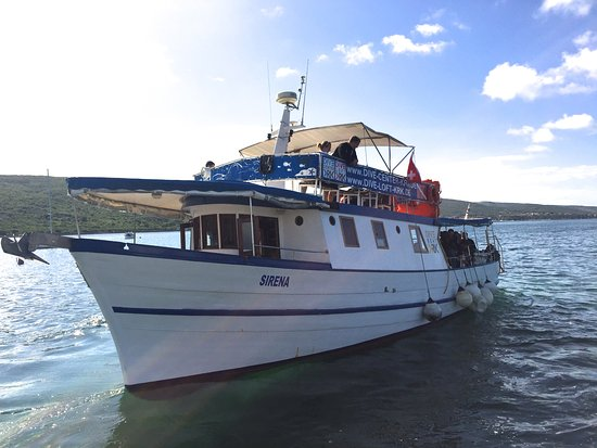 """Vrbnik, Croácia: Basiseigenes Tagetourschiff """" Sirene"""" für bis zu 35 Personen:-))"""