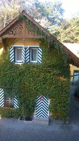 Ehrenhausen, Austria: das ist der Gartenblick