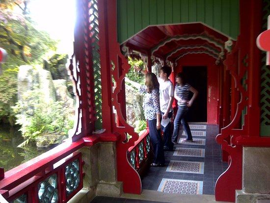 Biddulph, UK: The Joss House, Chinese Garden.