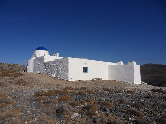 Сифнос, Греция: Le monastère d'Agios Giorgos