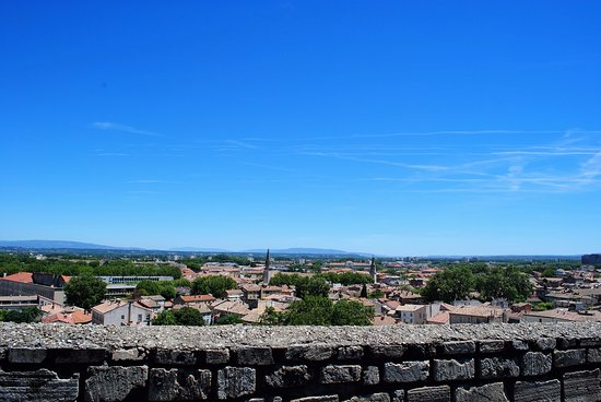 Rocher des Doms: Panorama