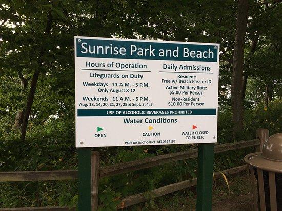 Lake Bluff, IL: Sunrise Park