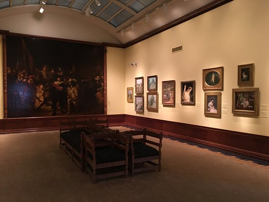 "Canajoharie, NY: One of the galleries (""Night Watch"" is a copy)"