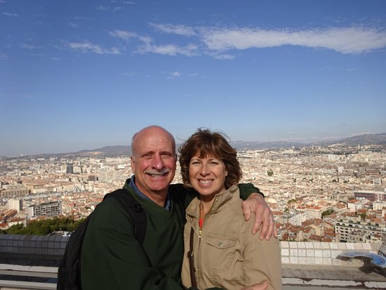 Marseille Provence Greeters - Private Tours : Taken at Notre Dame Catheral, Marseille.