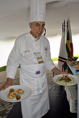 Marlia, Itália: Master Chef Orlando Giordan