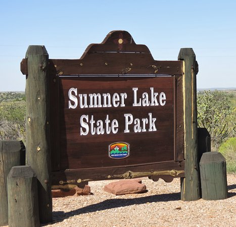 Sumner Lake State Park: Sign