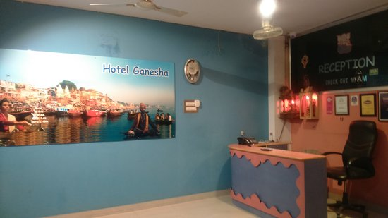 Hotel Ganesha : reception area