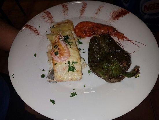 Segur de Calafell, Spania: Salmon a la piña