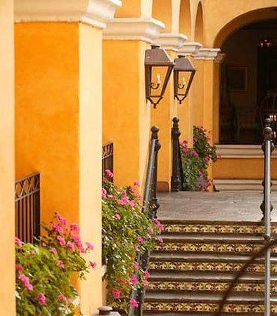 San Antonio De Belen, Costa Rica: Patio Stairs