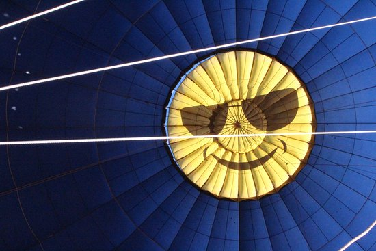 Park City, Γιούτα: Even the balloon smiles!