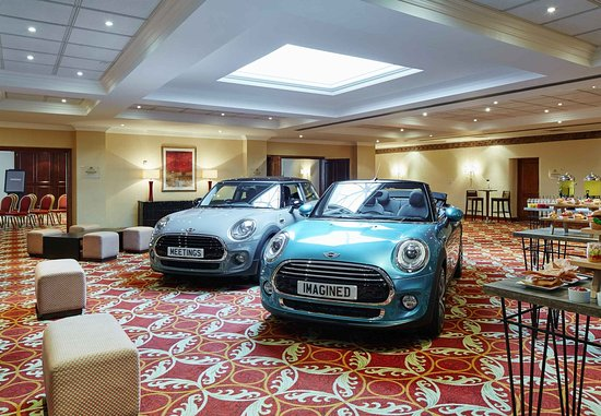 Worsley, UK: Event Venue – Car Launch