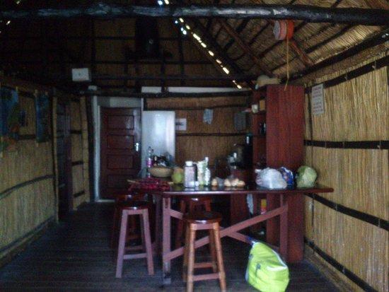 Casa Barry Lodge: Kitchen area