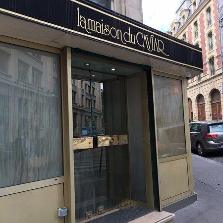 La maison du caviar paris omd men om restauranger - Maison du caviar paris ...
