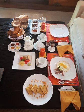 Aditya: Breakfast