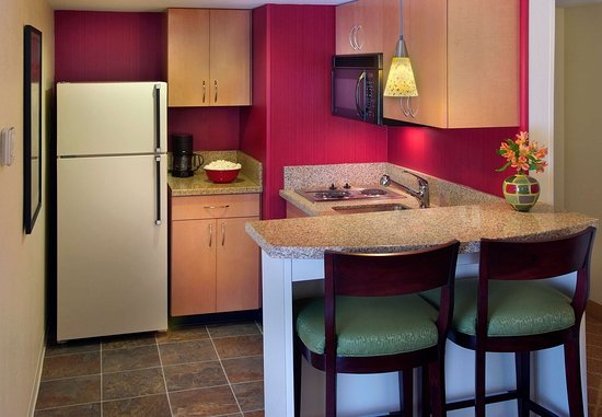 Westborough, MA: One-Bedroom Suite - Kitchen