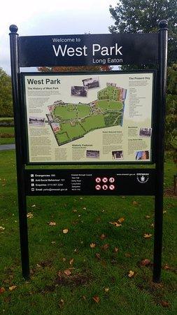 Long Eaton, UK: Signage