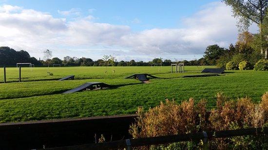 Long Eaton, UK: View across the Park