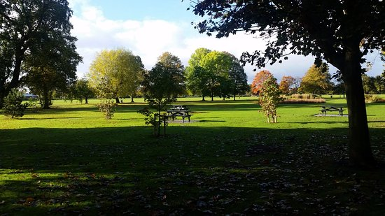 Long Eaton, UK: View across the Park
