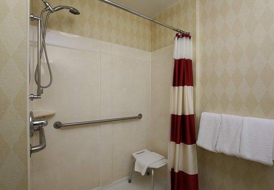 Exton, PA: Accessible Suite Bathroom - Shower