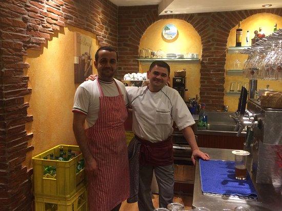 Weiden, Niemcy: Heute wieder verwöhnt vom Chef persönlich, begrüßt und bekocht ! Sehr nette Atmosphäre