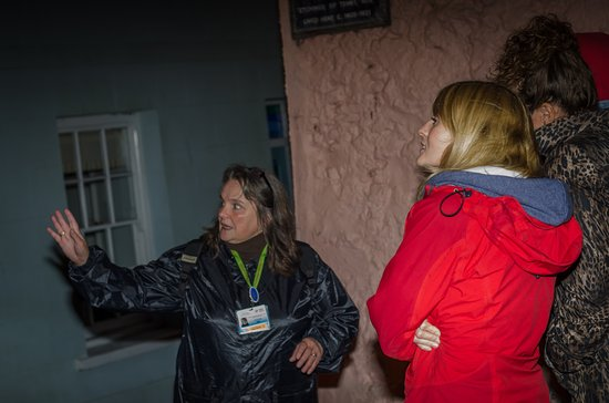 Guided Tours Wales: The Ghost Walk one stormy night! Dramatically caught by brilliant Grant Hyatt