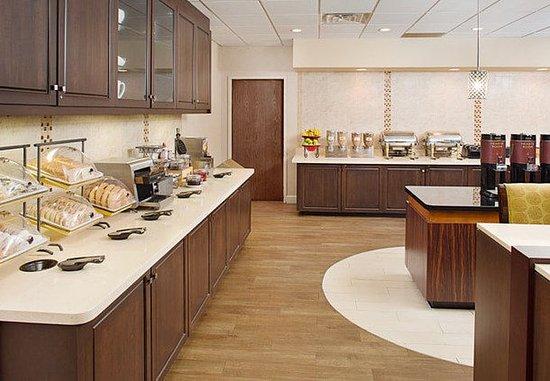 White Plains, estado de Nueva York: Breakfast Buffet
