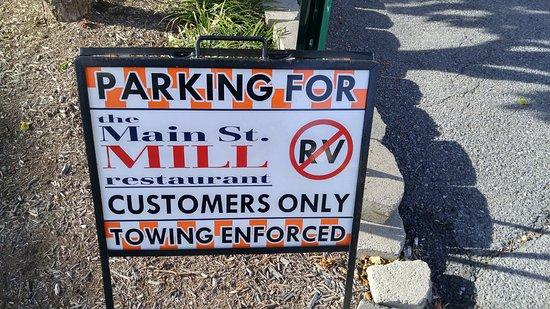 Front Royal, فيرجينيا: Parking