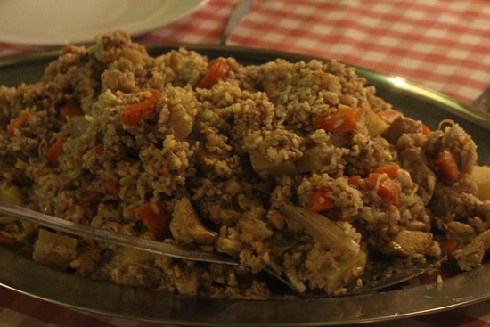 The Fauzi Azar Inn: The Maqluba (traditional Arab Dish) we cooked