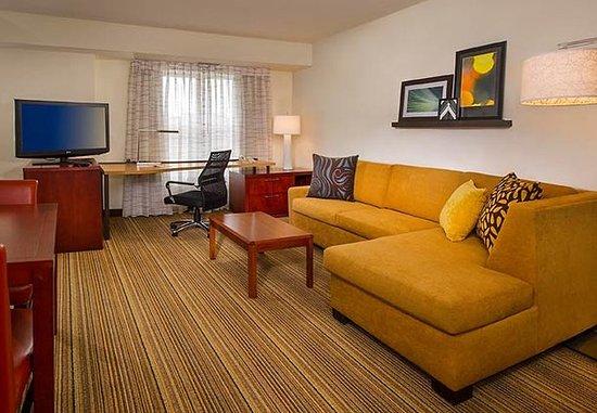 Ellicott City, Мэриленд: Studio Suite Living Area
