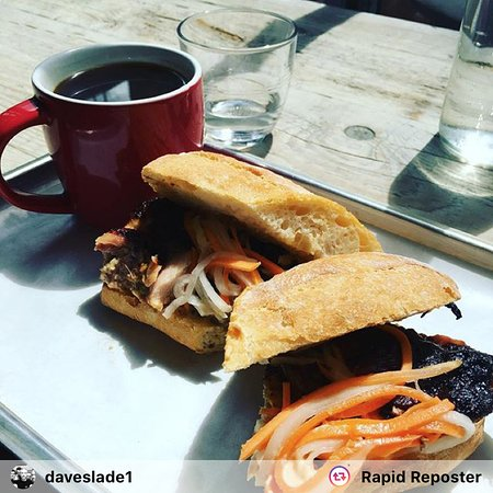 bread meat honey soy chicken black coffee