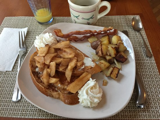 Campton, NH : Best French toast ever