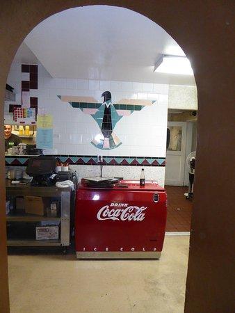 Mount Carmel, Γιούτα: Thunderbird Restaurant, le coin boisson