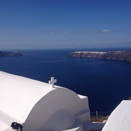 Grace Santorini Hotel: View of the room, and general room view