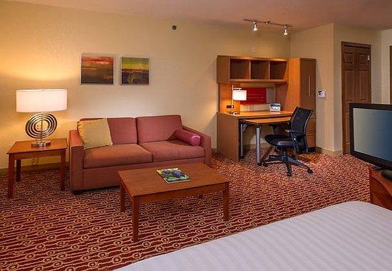 TownePlace Suites Chantilly Dulles South: Studio Suite - Work Desk