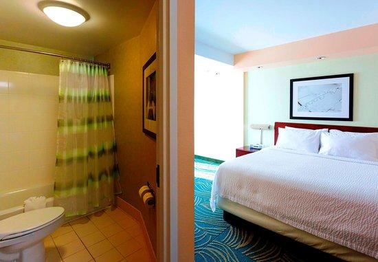 Devens, Массачусетс: King Suite Bathroom