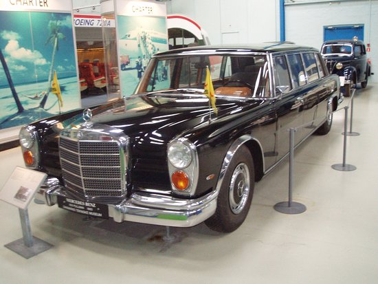 Danish Museum of Science and Technology: Mercedes 600, har tilhørt rejsekongen Simon Spies